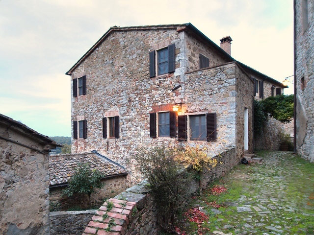 San Giovanni West : villa panoramic view in tuscany with pool